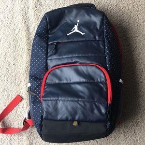 Navy blue Jordan Backpack